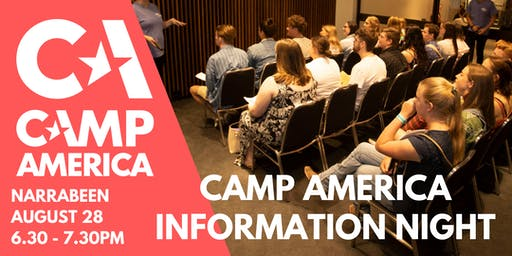 Narrabeen - Camp America Info Night