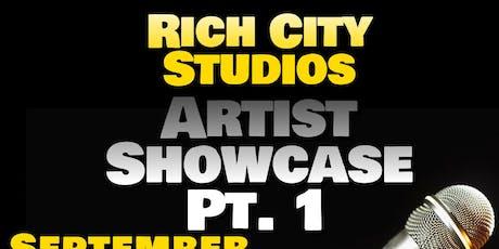 Rich City Studios Artist Showcase Pt.1 tickets