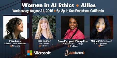 Women in AI Ethics Networking Meetup tickets