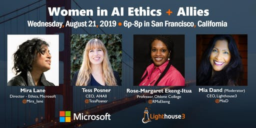 Women in AI Ethics Networking Meetup