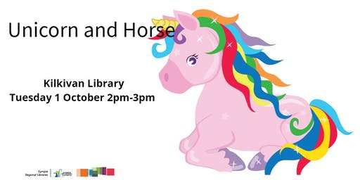 Unicorn and Horse Gympie Library