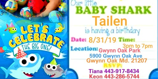 Tailens 1st birthday