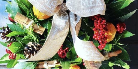 Mum & Me Christmas Wreath Making Workshop tickets