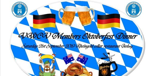Volkswagen Club of Victoria Oktoberfest Dinner 2019