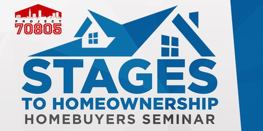 Stages of Homeownership: Homebuyers Seminar