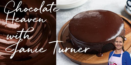 Chocolate Heaven! with cookbook author Janie Turner – special guest cooking class