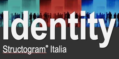 STRUCTOGRAM®️ITALIA - IDENTITY Alessandro biglietti