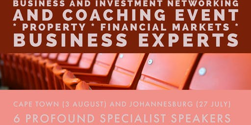 Pulse Networking and Coaching Event for Entrepreneurs and Investors - JHB October