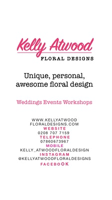 Kelly Atwood Floral Designs  logo