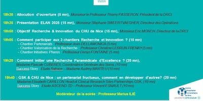 3ème soirée de la Recherche et de l'Innovation en santé ELAN 2025