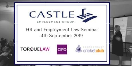 Castle's HR & Employment Law Seminar tickets