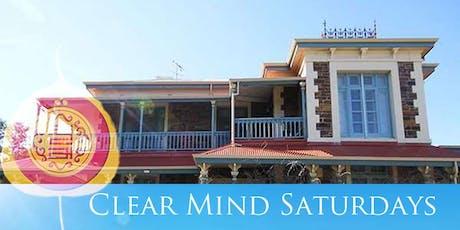 Clear Mind Saturdays tickets