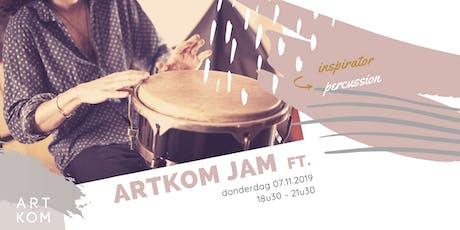 Creative JAM ft. Percussie met Frank Michiels tickets