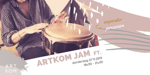 Creative JAM ft. Percussie met Frank Michiels
