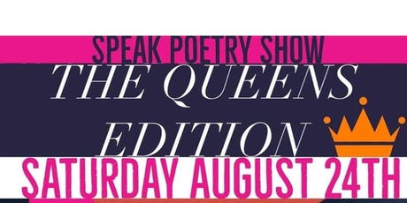 Speak Poetry Show The Queens Edition tickets