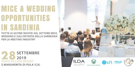 MICE and Wedding opportunities in Sardinia tickets