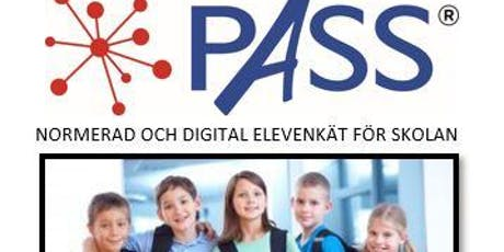 Inspirationskväll - PASS digitala elevenkäter - Stockholm tickets