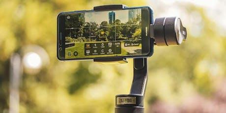 Tagesseminar: Professionell filmen & schneiden mit dem Smartphone Tickets