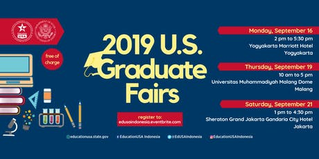 U.S. Graduate Fair 2019 (Malang) tickets