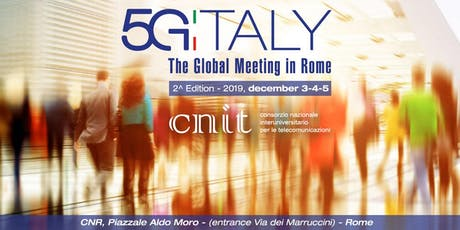 5G Italy - The Global Meeting in Rome biglietti