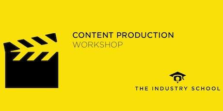 Content Production Workshop tickets