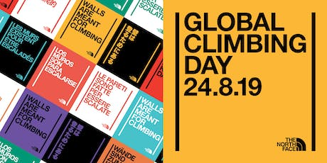 Walls Are Meant For Climbing – Global Climbing Day Tickets