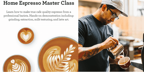 Cafe Quality at Home Masterclass Presented by Breville   tickets