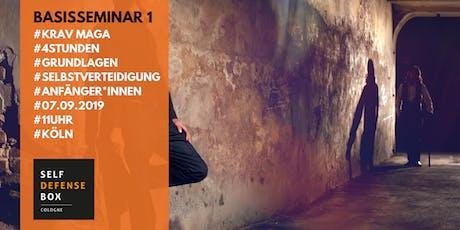 Krav Maga Basisseminar 1 - Grundlagen der Selbstverteidigung Tickets