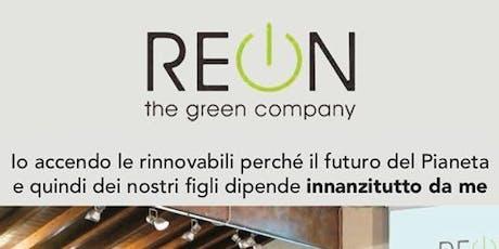 Accendi le rinnovabili! Da OGGI con spesa minore del 50%!!! biglietti