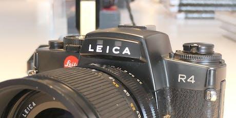 Fotografieren mit der Leica R tickets