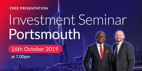 Portsmouth Investment Seminar on Buy2LetCars tickets