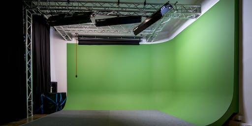 """WORKSHOP: VFX & 3D ANIMATION """"Erweiterte Filmwelten dank Greenscreen"""""""