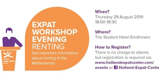 Expat Workshop Evening: Renting in Eindhoven