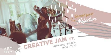 Creative JAM ft. Nefertari tickets
