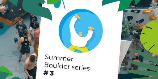 Summer Boulder series #3