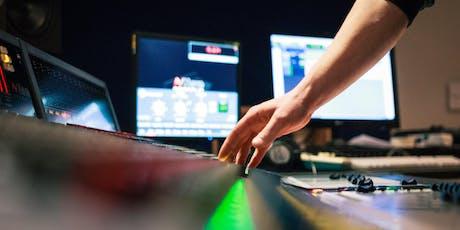 """WORKSHOP: AUDIO """"E-Gitarren Recording"""" tickets"""