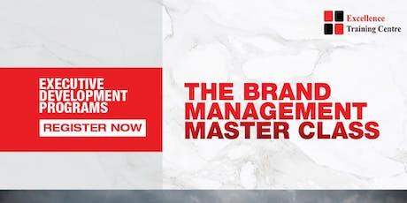 Brand Management Masterclass tickets
