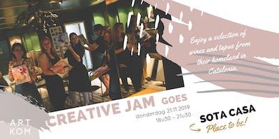 Creative JAM goes Sota Casa