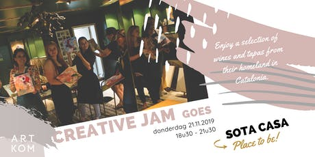 Creative JAM goes Sota Casa tickets