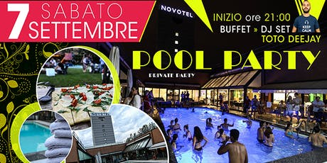 Private Pool Party in un hotel 4 stelle biglietti