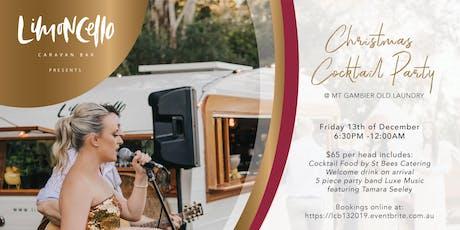 Limoncello Caravan Bar Presents  a 'Christmas Cocktail Party' tickets