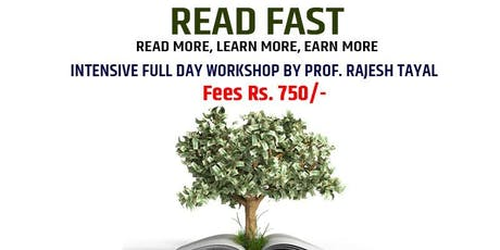 Read Fast Learn More Workshop tickets