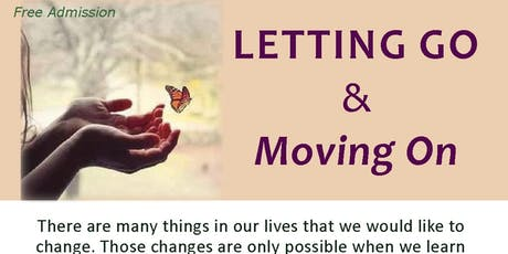Letting Go & Moving On tickets