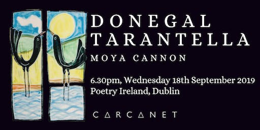 Donegal Tarantella: Carcanet Book Launch Dublin