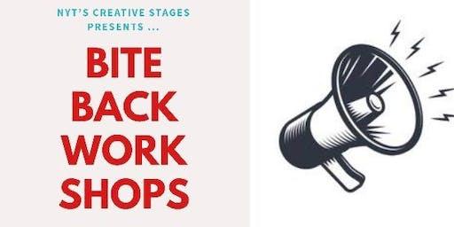 Bite Back Back Scheme : Verbatim Workshops