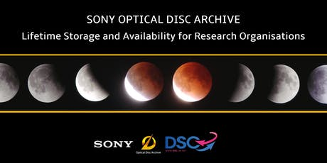 Sony Optical Disc Archive - Lifetime Storage and Availability for Research tickets