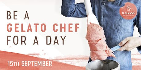 Be a Gelato Chef for a Day (15th September) tickets