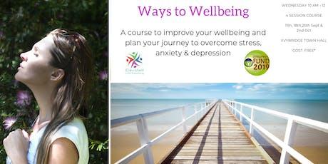Ways to Wellbeing tickets