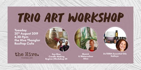 Trio Art Workshop  tickets