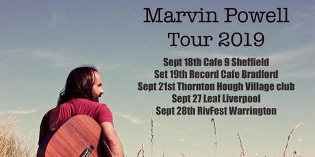 Live music: Marvin Powell tickets